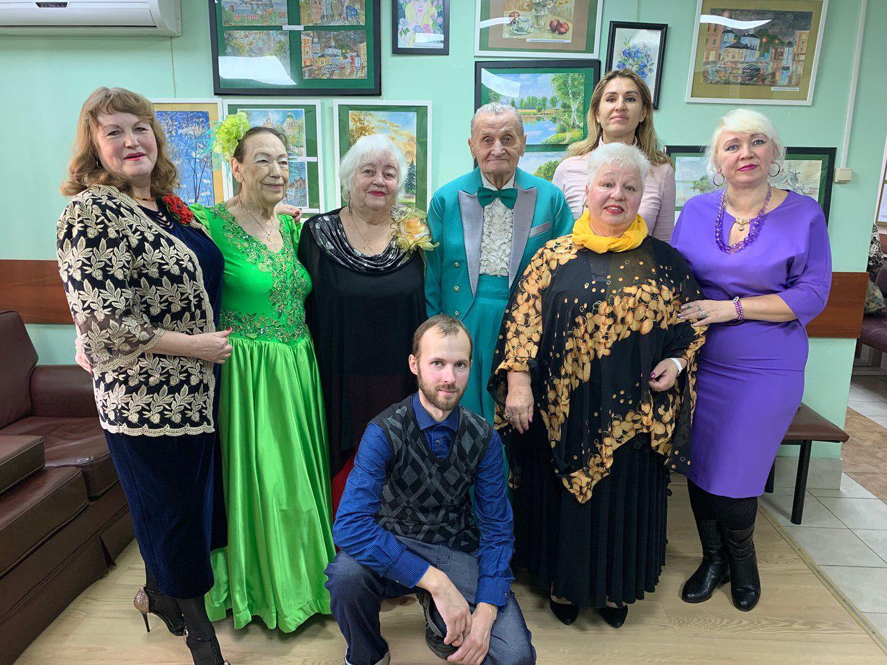 Концерт «Осеннее настроение» провели в центре соцобслуживания Некрасовки