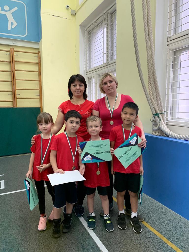 Представители ГБОУ «Школа № 2048» стали призерами соревнований по кроссфиту