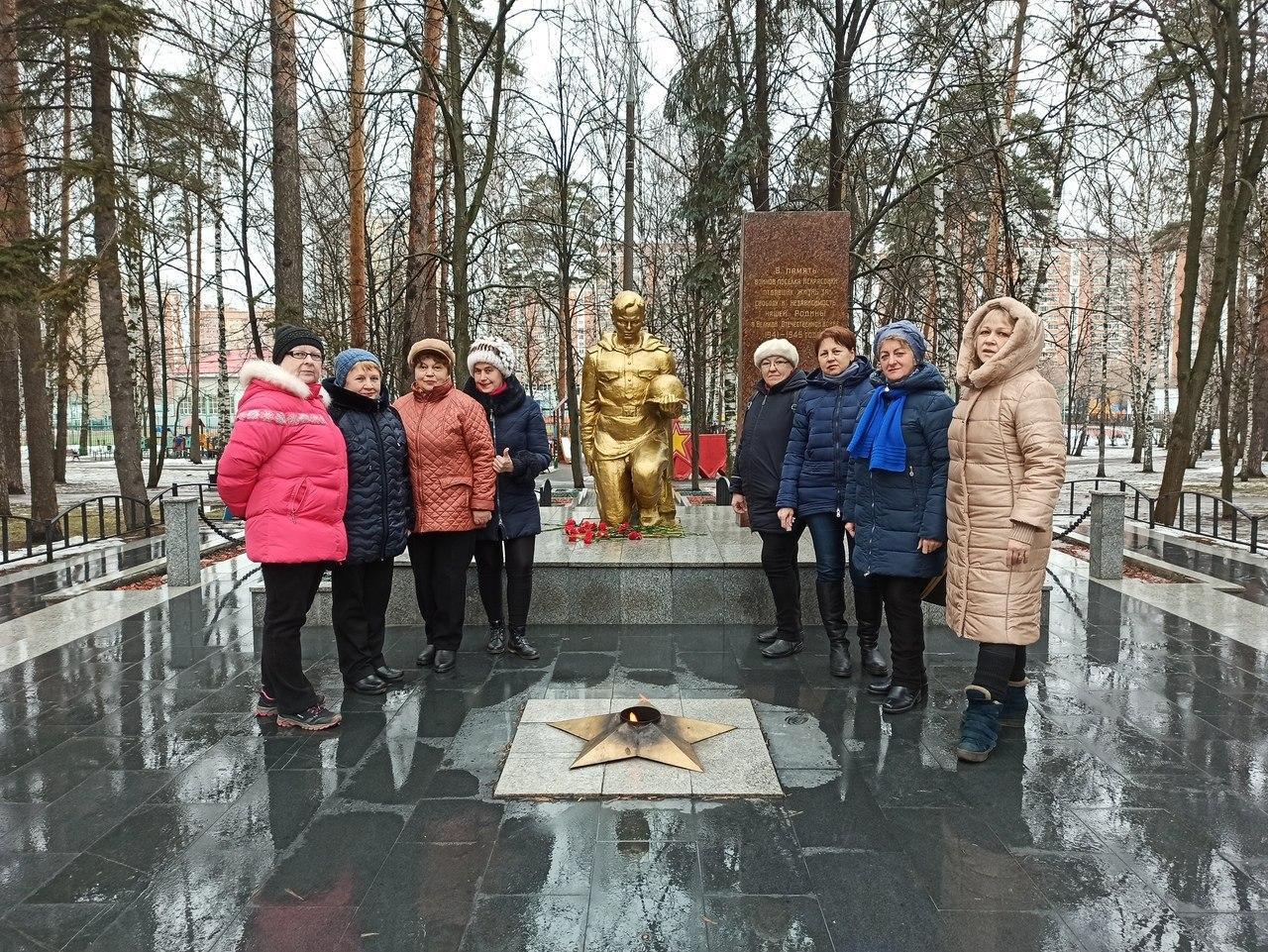 Патронатная акция состоялась в районе Некрасовка в рамках проекта «Московское долголетие»