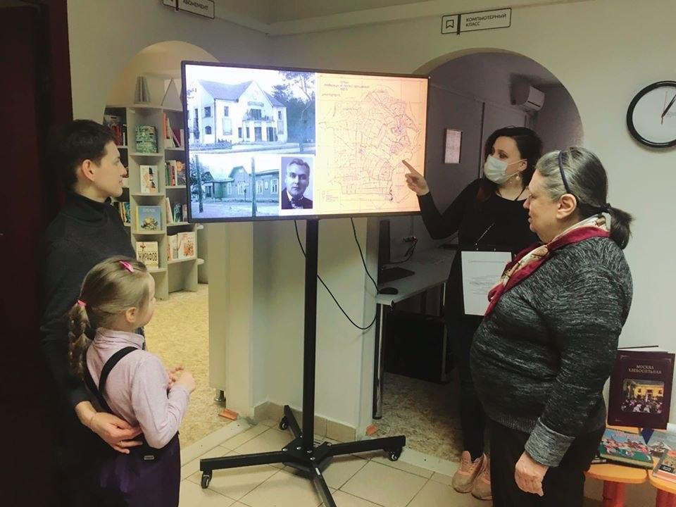 Сотрудники библиотеки № 117 провели медиаэкскурсию «Лица Некрасовки»