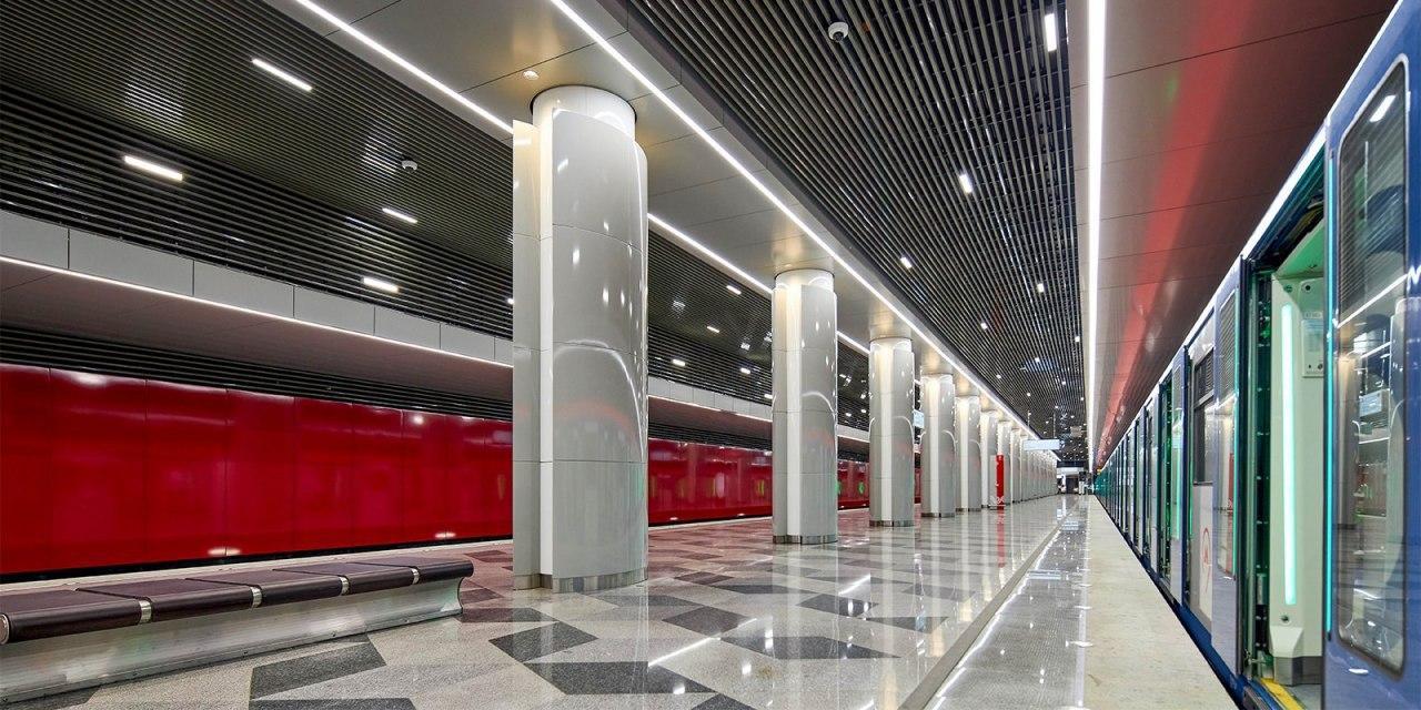 Московский метрополитен временно закрыл выходы 5-11 станции «Некрасовка»