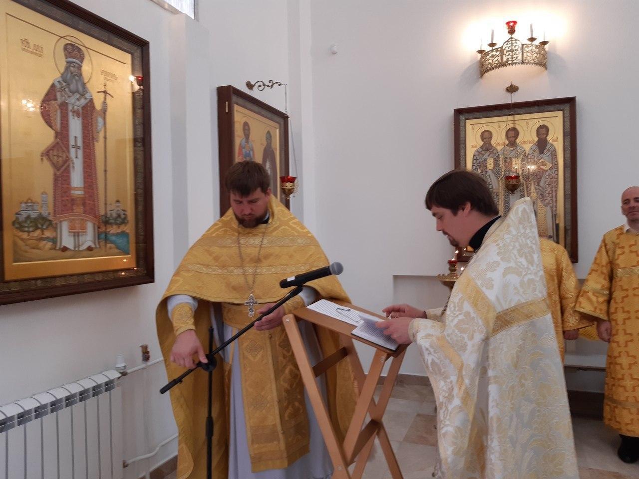 Освящение иконы святителя Луки Крымского состоялось в храме на Покровской