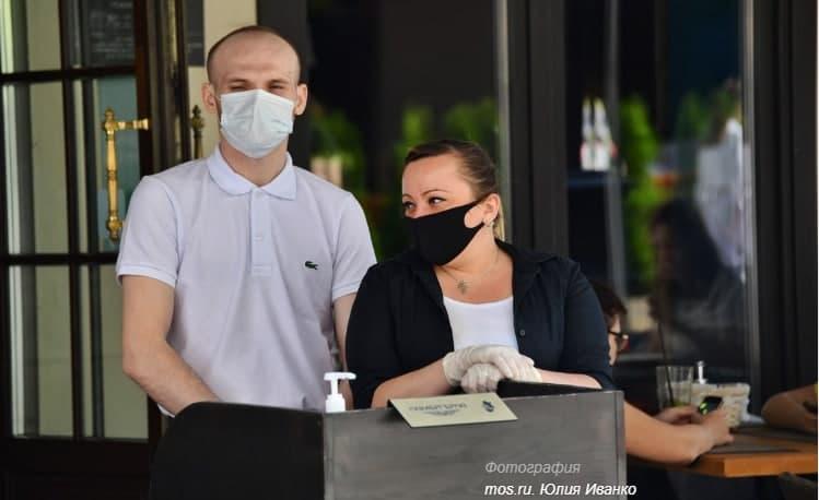 В Москве в 1,5 раза снизилось число нарушений при размещении летних кафе